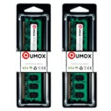 QUMOX @ 2x 2GB 4GB DDR2 800MHz PC2-6400 PC2-6300 (240 PIN)...