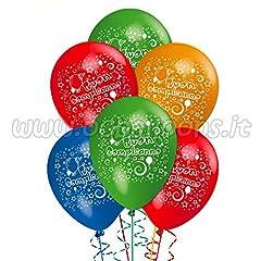 Idea Regalo - ocballoons Palloncini Compleanno addobbi e Decorazioni per Feste Party
