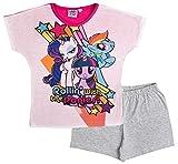 My Little Pony Girls Short Pyjamas Pjs Rollin 5-6