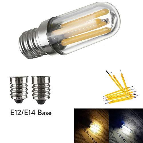 Mini E14 E12 Led Kühlschrank Gefrierschrank Glühlampe Cob Dimmbare Lampen 1W 2W 4W Lampe Warm/Kalt Weiß Lampen Lighting-Cold_White_4W_E12_110V