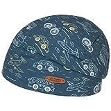 maximo Traffico Jersey Kindermütze Beanie Kinderbeanie Wintermütze Sommermütze Baumwollmütze (53 cm - hellblau)