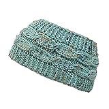 biback Haarband Twist Knit Stirnband Stricken Für Frauen Futter In Fleece Soft Gestrickte Kopfbedeckung Heißeste Haar Zubehör Modell