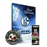 Adventskalender, Weihnachtskalender deines Bundesliga Lieblingsvereins 2018 - Plus gratis Sticker & Lesezeichen Wir Lieben Fußball (FC Schalke 04)