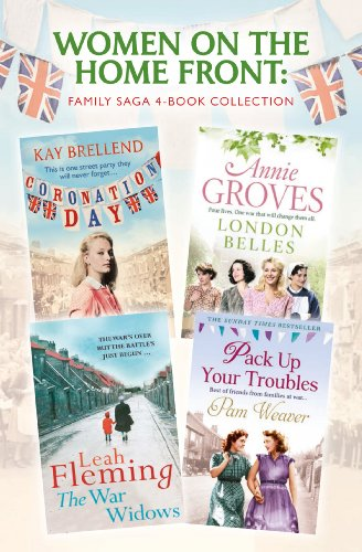 Women on the Home Front: Family Saga 4-Book Collection (English Edition) Pack In Womens Avon