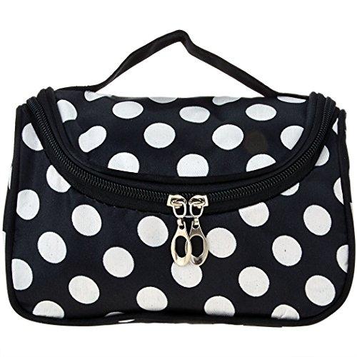 Frauen Geldbeutel - All4you lässig Damentasche Arbeit Reisen Make-up Kosmetiktasche Handbag(White) (Drucken Tasche Unterschrift Schulter)