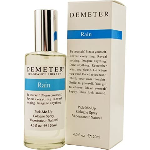 Demeter Cologne Spray for Unisex, Rain, 4 Ounce by Demeter (English Manual)