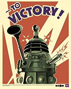 Mini-affiche 'Doctor Who - Dalek', Taille: 41 x 51 cm