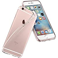 Spigen Coque iPhone 6s, Coque iPhone 6 [Liquid Crystal] TPU Silicone [ Transparent Souple Discret ] Coque Housse Etui Compatible avec iPhone 6 / 6s