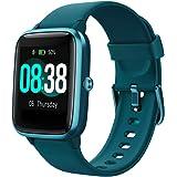 YONMIG Smartwatch, fitnessarmband, tracker, volledig touchscreen, horloge, IP68 waterdicht, polshorloge, smart watch met stap