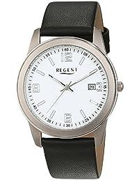 Regent Herren-Armbanduhr Analog Quarz Leder 11190167