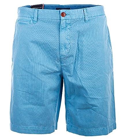 Tommy Hilfiger Herren Kord Chino Shorts kurze Hose Bermuda blue Größe 35