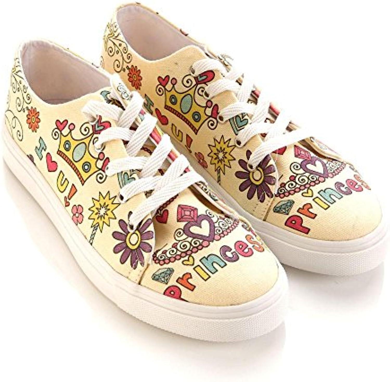 Goby UK SPR5404-5406-5408-5411 - Mocasines de Lona Para Mujer Multicolor
