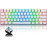 Urchoiceltd RGB Tastiera meccanica, tastiera Bluetooth cablata / wireless RK61 61 tasti Tastiera da gioco impermeabile…