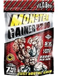 Vit-O-Best Monster Gainer 2200, Suplementos Alimentarios para Deportistas, Sabor a Chocolate - 1500 gr