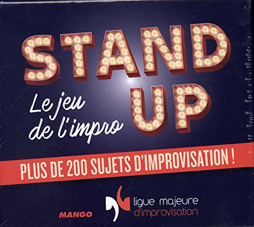 Stand up, le jeu de l'impro par Vincent Tribout