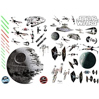 STAR WARS   Wall Sticker Set: Space Battle Part 81