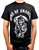 Sons of Anarchy T Shirt Main Logo (Nero) - Medium