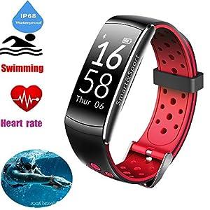 feifuns Fitness Tracker Activity Tracker Smart Watch HR Monitor Calorie Counter