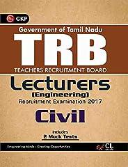 TRB Teachers Recruitment Board Lecturers (Engineering) Civil 2017