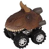 Ocamo Coche de Juguete de Mecanismo con Cabeza de Dinosaurio