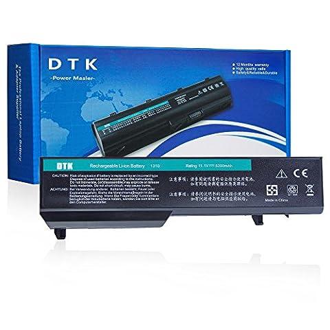 Dtk® Batterie Haute Performance pour Ordinateur Portable Dell Vostro Pp36s Pp36l 1320 2510 1310 1510 Series [Li-ion 6-cell 11.1v 4400mah/48wh]