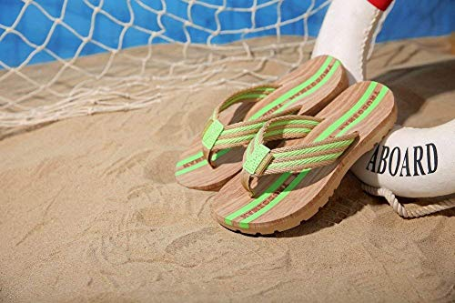 newest b0895 40038 Flip Flop La Pareja Moda de Playa USA Las Sandalias de Super Grip Fashion  (Color