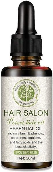 Hair Regrowth Serum Natural Hair Care Essential Oil Hair Loss Treatment Damaged Hair Repair for Soft Shiny Glossy Silky Hair