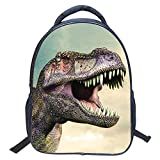 ParaCity kids Backpacks 3D Vivid Animal Print Backpack Toddler Kid Neoprene School Bags Hiking Daypacks for Kindergarten Boys Girls (Dinosaur 2)