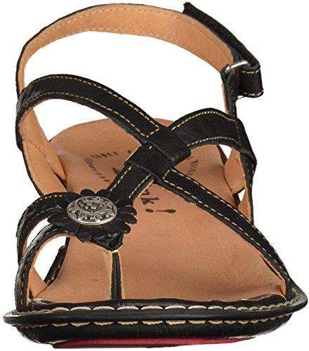 4 84501 Nere Donne Femmes 84501 4 Pensate Sandale Think Sandalo Noir YRa4xn