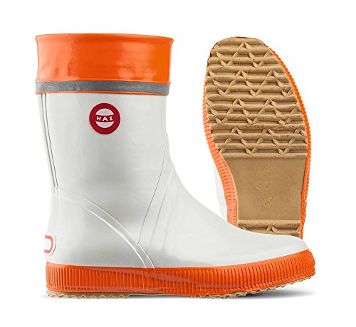 Nokian Footwear  Hai, Bottes Unisexe adulte gris/orange