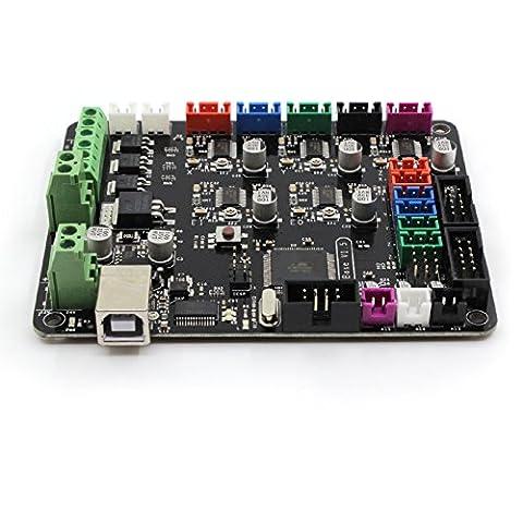 Carte de contrôleur plate BIQU MKS-BASE V1.5 pour imprimante 3D Ramps 1.4
