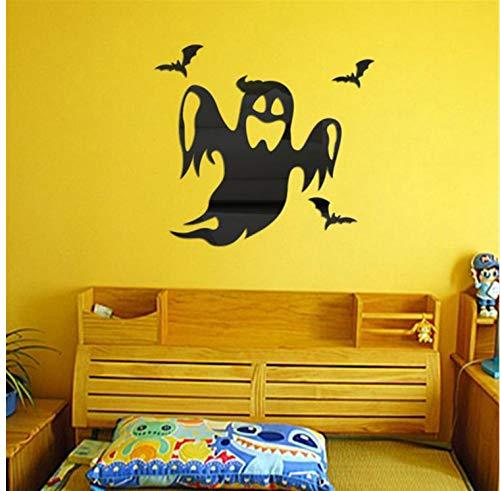 HHZDH Wandaufkleber Halloween Geist Hintergrund Dekoriert Wohnzimmer Schlafzimmer Wandaufkleber Halloween Dekoration wandaufkleber für kinderzimmer Stickers300 * 300mm