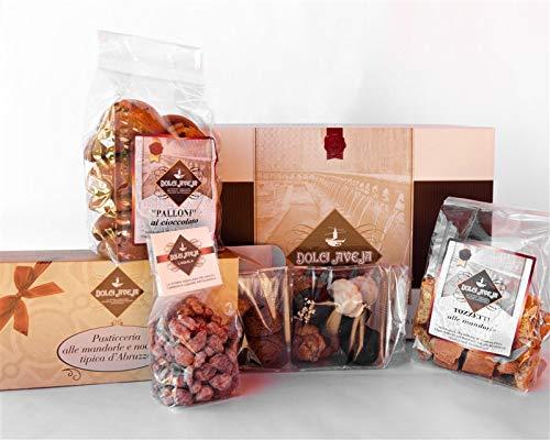 Dolci aveja pacco armonioso pasticceria mista mandorle e nocciole - 1400 gr