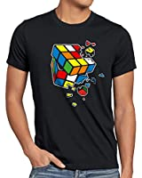 style3 Explodierender Zauberwürfel Herren T-Shirt sheldon