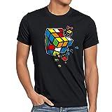 style3 Explodierender Zauberwürfel Herren T-Shirt sheldon, Größe:S