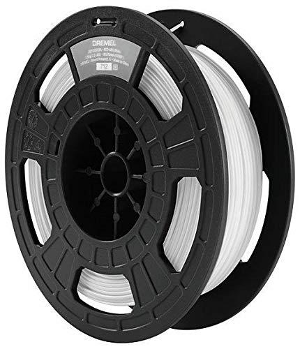Dremel Filamento Eco-ABS (Accesorio para impresora 3D Dremel 3D45, blanco, diámetro: 1,75 mm, en caja de cartón)