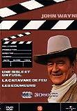 John Wayne: Une bible et un fusil, La caravane de feu, les écumeurs - Coffret 3 DVD...