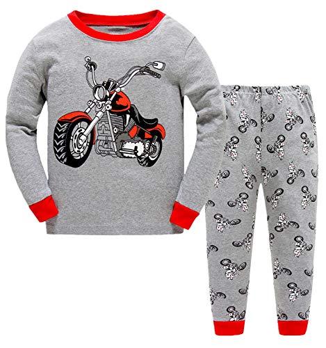 c2b5aaf61f56cc LITTLE HAND - Pijama Dos Piezas - para niño Motorcycle 1-2 Años