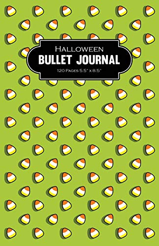 Halloween Bullet Journal 120 Pages 5.5