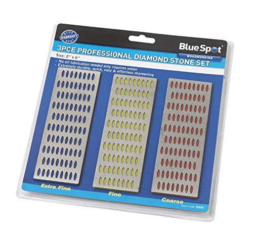 Blue Spot 19275 Diamant-Schleifstein-Set, 3-teilig