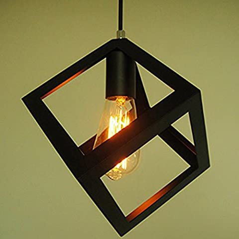 Lampade Nordic Ferro nuovo lampadario di diamante retrò palla senza luce