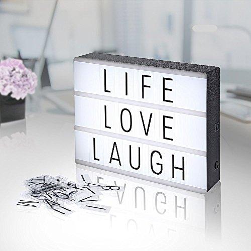 Lightbox-A4-AGM-LED-caja-de-luz-cinematogrfica-luz-clida-con-letras-nmeros-smbolos-emojis