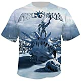 HELLOWEEN - My God - Given Right - Allover - T-Shirt