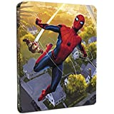 Spider-Man Homecoming Steelbook UK Limited Edition 4 Disk Edition 4k +3D+2D+Digital Disk Steelbook + and Comic Region Free