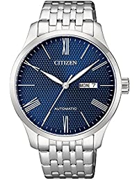 Citizen Analog Blue Dial Men's Watch-NH8350-59L