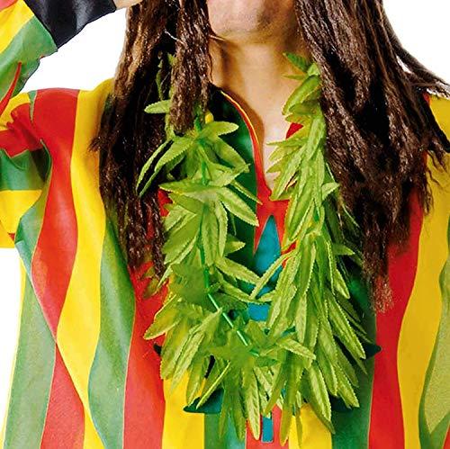 Guirca Fiestas GUI16736 - Marijuana-Blatt Halstuch (Kiffer Kostüm)