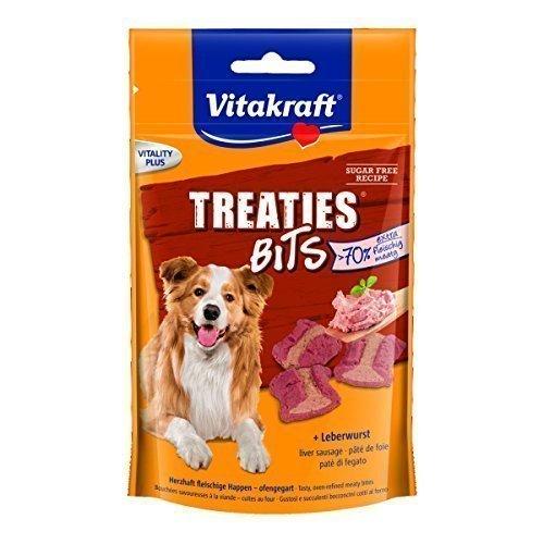 Vitakraft, Treaties Bits, Cibo per cani, 6 x 120 g