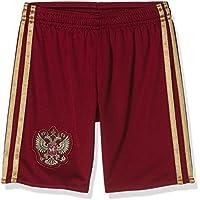 adidas RFU H Sho Y - Pantalón corto para niño, color rojo/amarillo, talla 152