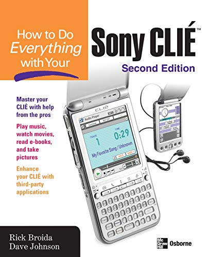 How to Do Everything with Your Sony Clie -