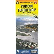 Yukon Territory Travel Map 1 : 1 000 000: Dawson City, Watson Lake, Whitehorse
